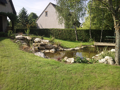 Ambiance v g tale bassin naturel bassin biologique for Bassin naturel piscine